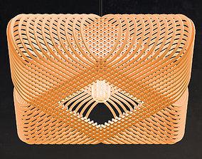 Ovals pendant lamp 3D