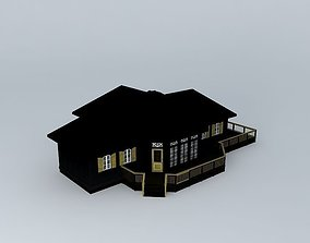 Vacation House 3D model