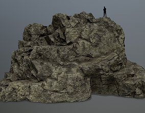 3D asset VR / AR ready sand rocks