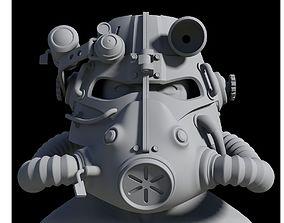 3D printable model T-45 Helmet