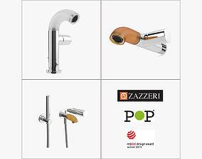 Zazzeri Faucet Set - Mixer Shower Tap 3D model