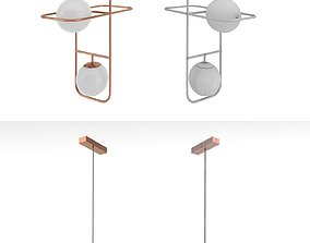 3D Suspended lamp LINK II factory Mambo Unlimited Ideas