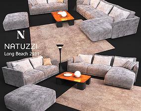 3D model sofa NATUZZI Long Beach 2911