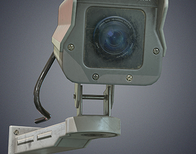 3D model Security cameras