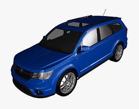 3D model Fiat Freemont 2012 4x4