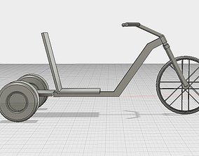 Simple Drift Trike No Motor 3D printable model