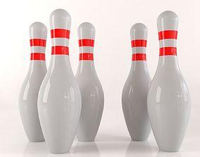 3D model Bowling kegel