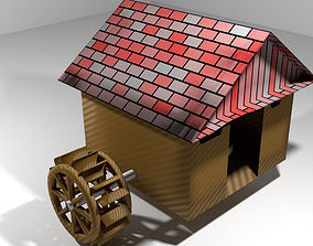 Watermill architectural 3D