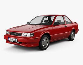 3D Nissan Sentra SE-R coupe 1990