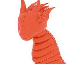 Dragon Head beast 3D print model