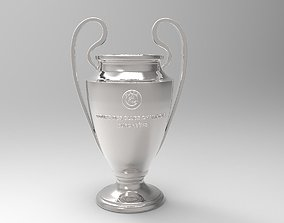 UEFA Champions League Trophy 3D printable
