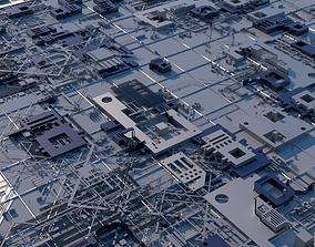 Sci-Fi Structure 01 3D
