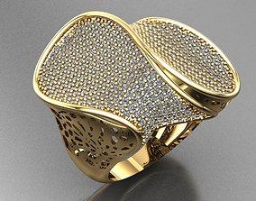Fancy Ring earring 3D printable model