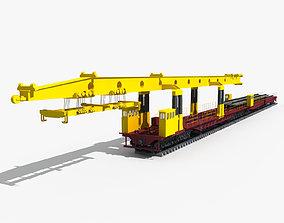 3D model Laying Machine