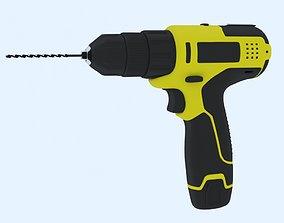 3D model tools drill