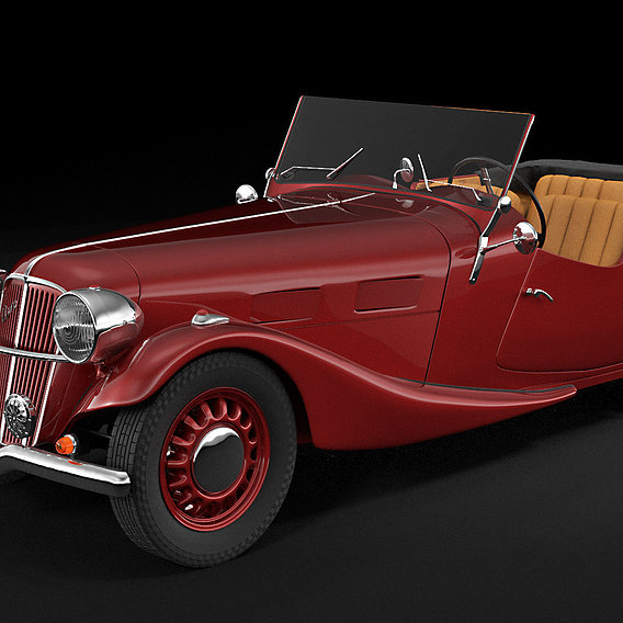 Aero 30 convertible oldtimer car