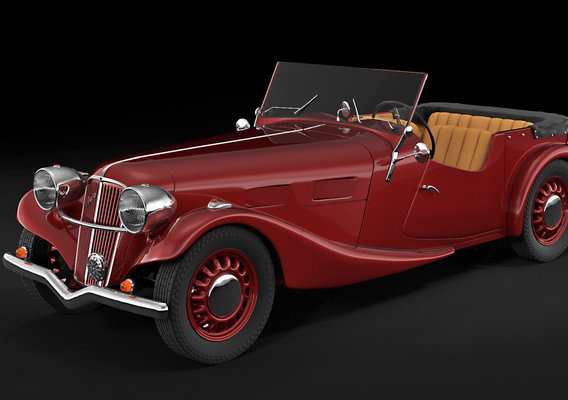 Aero 30 convertible oldtimer car