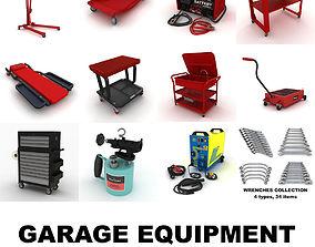 workshop 3D Garage equipment vol 1