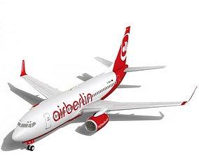 airberlin Boeing 737-700w 3D model