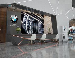 3D vray Showroom interior BWM