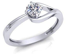3D print model Diamond Ring 14 fashion-ring