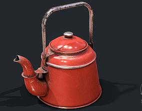 Old Teapot 3D asset