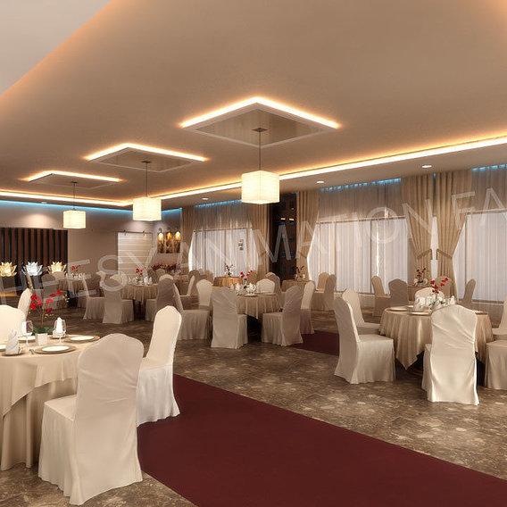 3D Commercial Interior Rendering