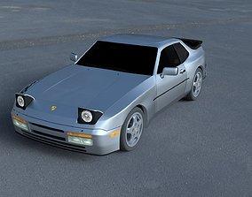 3D model Porsche 944 Turbo S HDRI