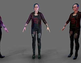 3D model Female Outfit Pack 1