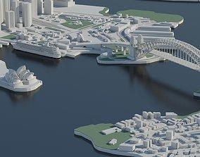 Sydney 3D City sydney