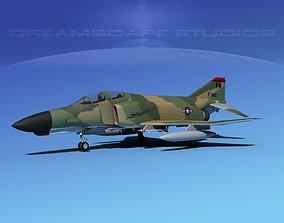 McDonnell Douglas F-4E Phantom II V03 3D