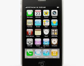 Apple iPhone 3Gs 3D asset