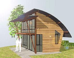 HOME at WEEKEND cableway 3D model