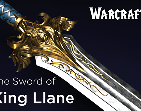 The Sword of King Llane from Warcraft movie 3D print model