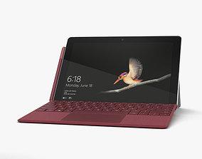 Microsoft Surface Go 3D model