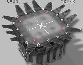 Landing Tower 3D model