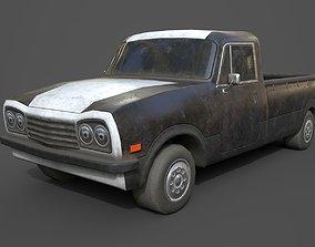 Generic PickUp Black 3D model