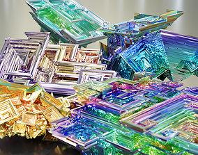Bismuth Crystals 3D