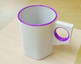 3D printable model Simple stylish mug