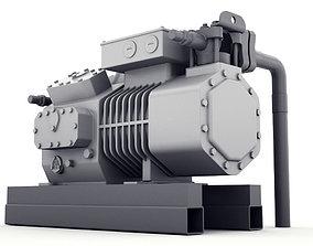 Diesel generator 3D