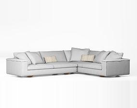 3D model Sunny L sofa by Jardan