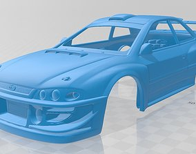 Subaru Impreza WRX Printable Body Car