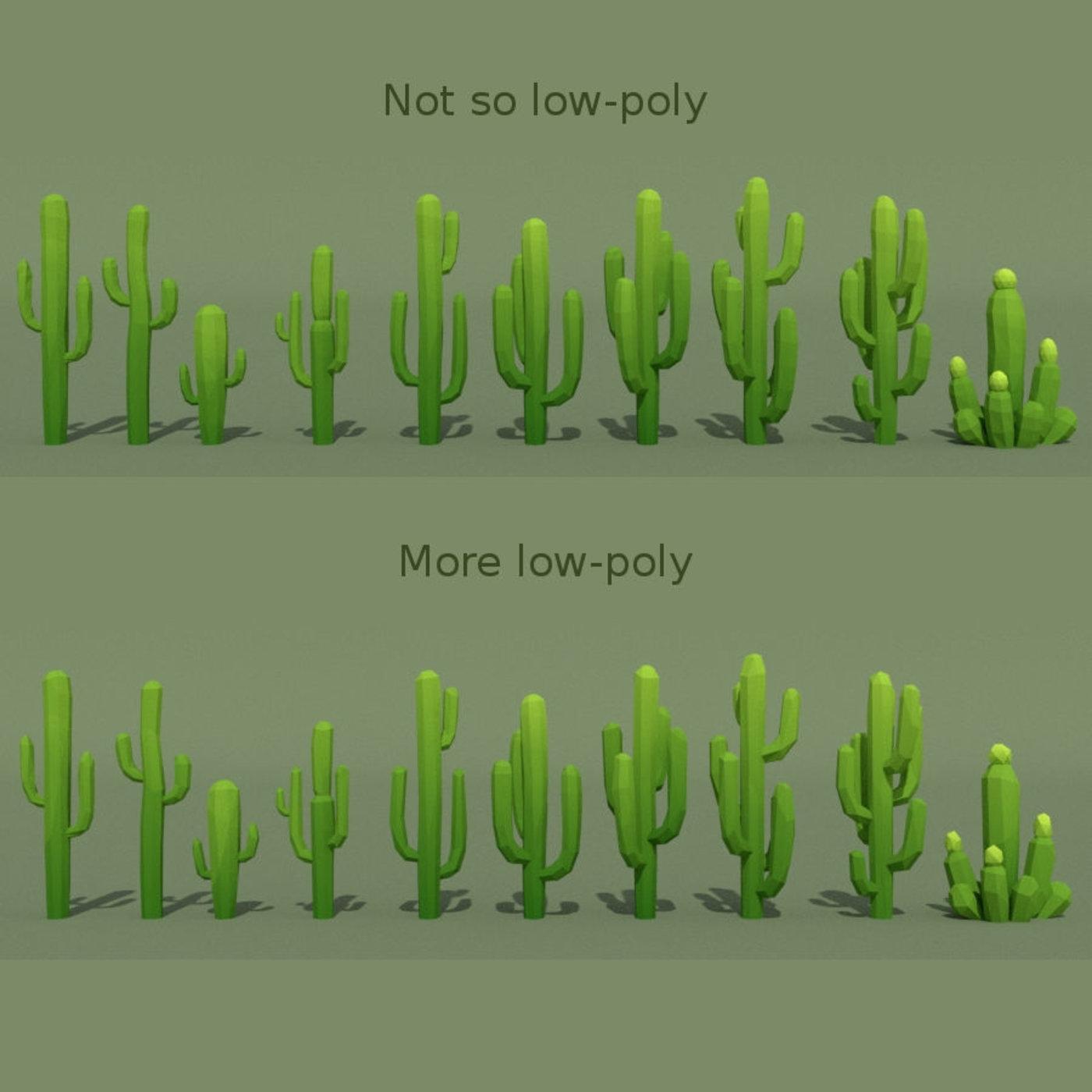 LowPoly Desert Pack