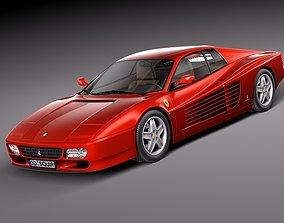 Ferrari 512TR 1991-1996 3D