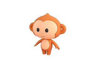 3D model Character078 Monkey