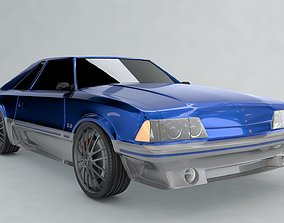 Ford Mustang 5 0 3D model