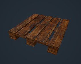 3D asset game-ready Wood Pallet
