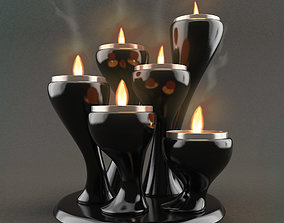 interior 3D Candle Holder