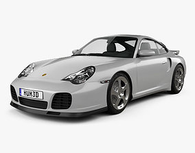 3D model Porsche 911 Turbo Coupe 996 2000