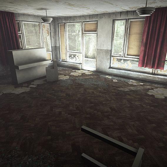 Abandoned Room WIP
